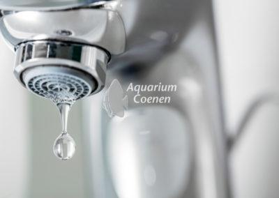 Aquarium-Coenen-kraanwater