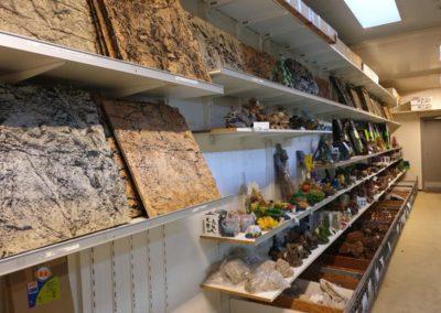 Galerij achterwanden en aquariumdecoratie