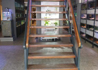 Trap naar eerste etage